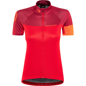 Endura Hyperon II Maillot à manches courtes Femme, red